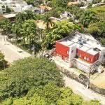 Foto aérea do Instituto Amato