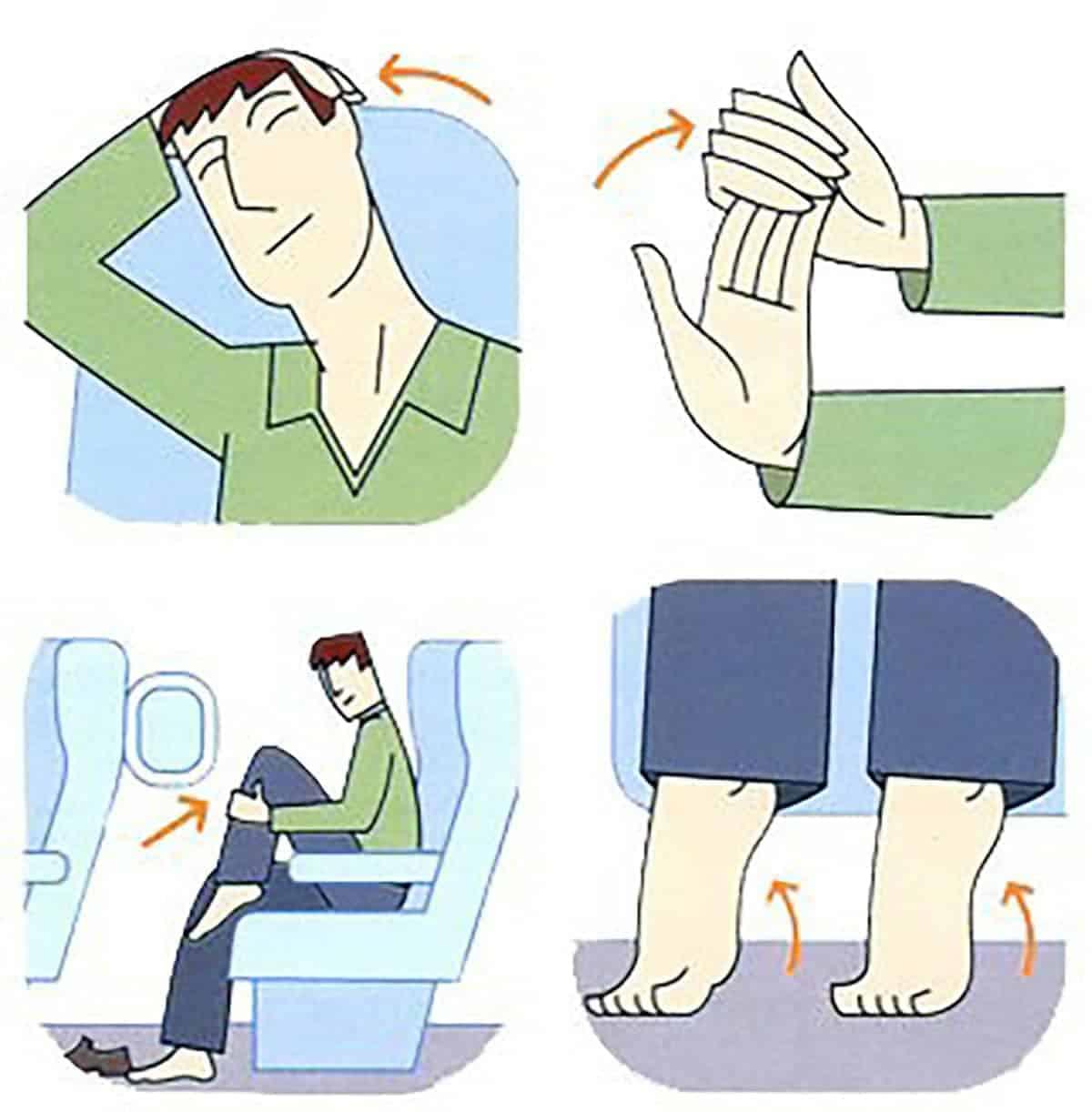 Saiba mais sobre trombose e avião<span class=
