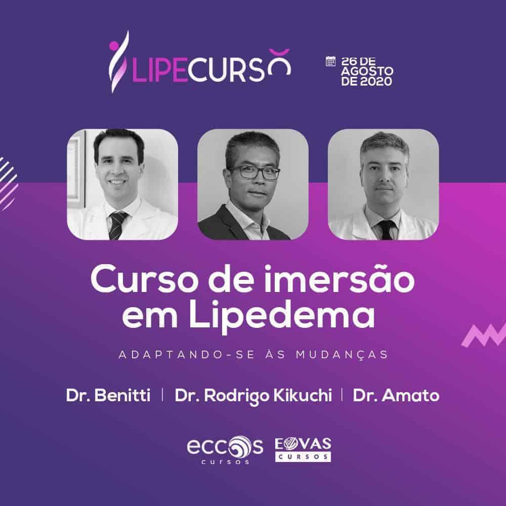 Primeiro Curso de Lipedema no Brasil<span class=