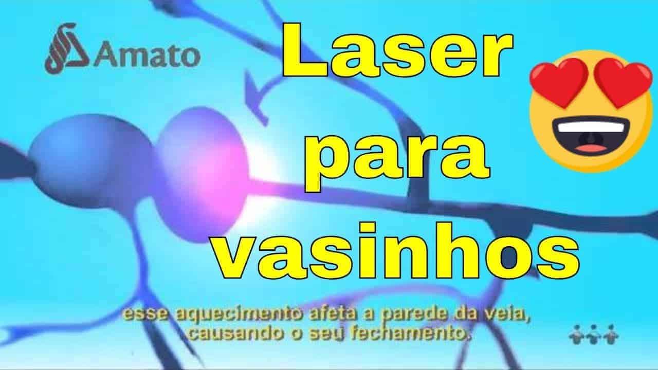 Laser para vasinhos<span class=