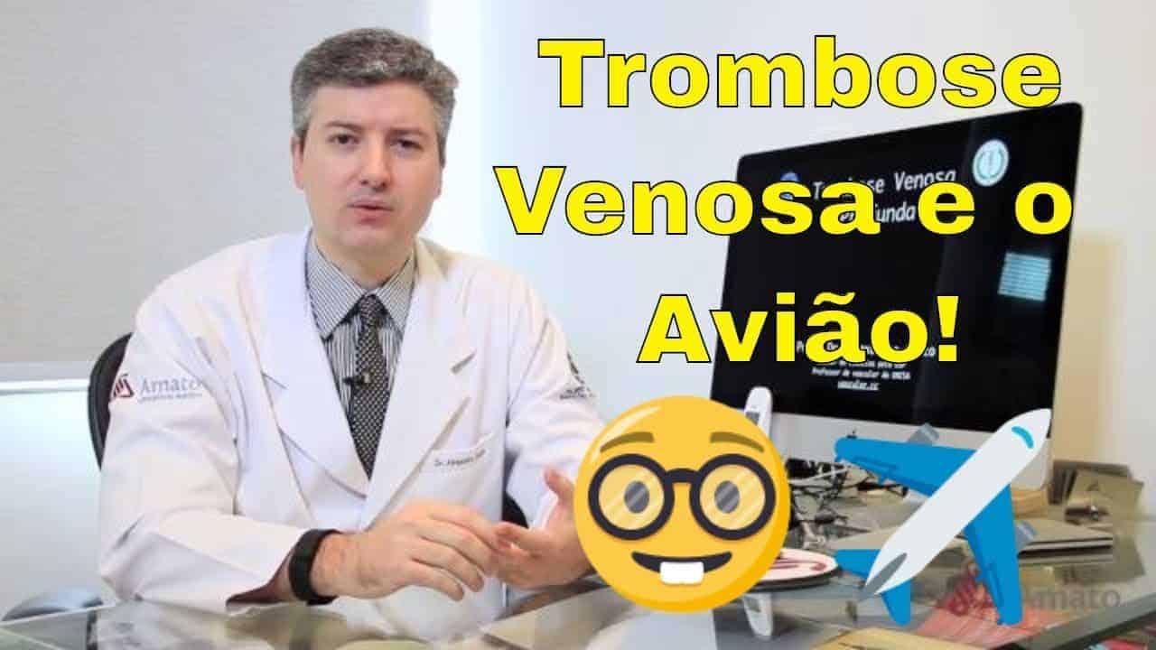 Trombose Venosa e Avião (TVP, tromboflebite, embolia)<span class=