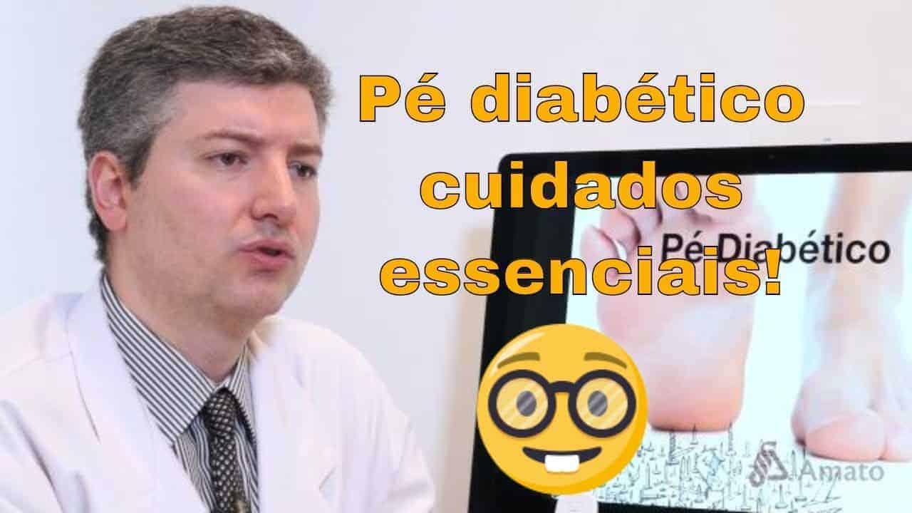 Cuidados com o pé diabético. O que todo diabético deve saber.<span class=