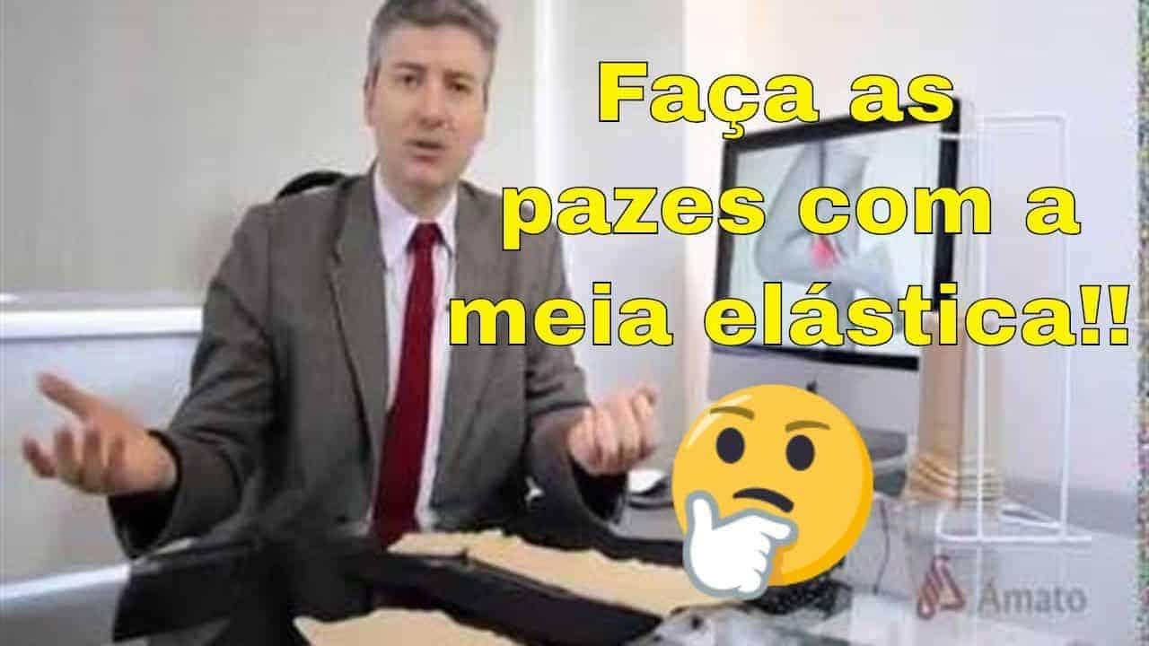 O Uso da Meia Elástica na Insuficiência Venosa: Dr. Alexandre Amato<span class=