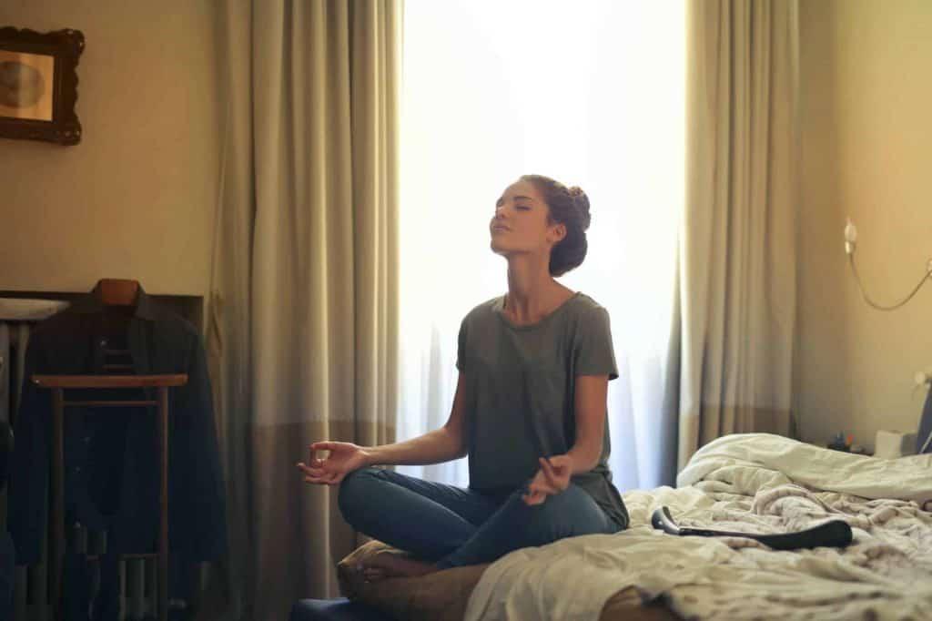 Exercícios de meditação para quarentena