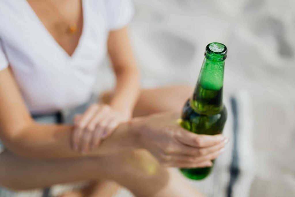 Benefícios ao parar de beber