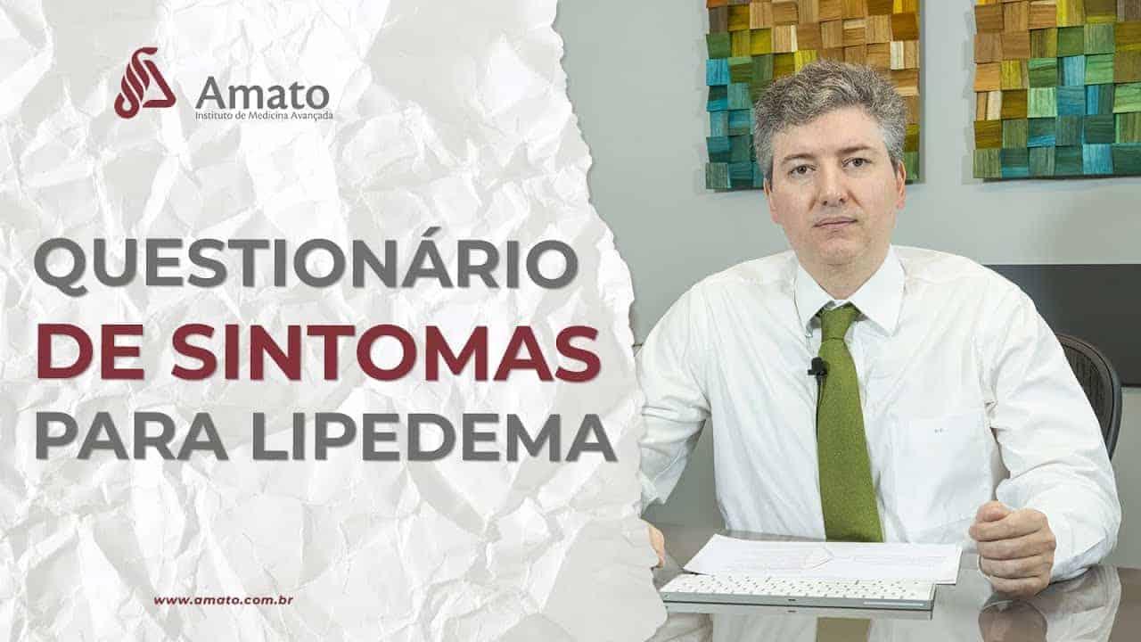 Questionário de Sintomas Para Lipedema<span class=