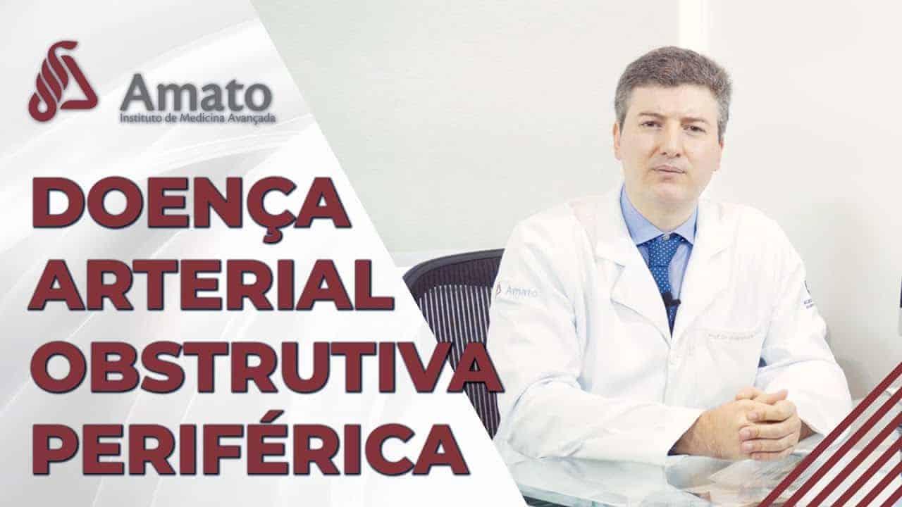 Doença Arterial Obstrutiva Periférica<span class=