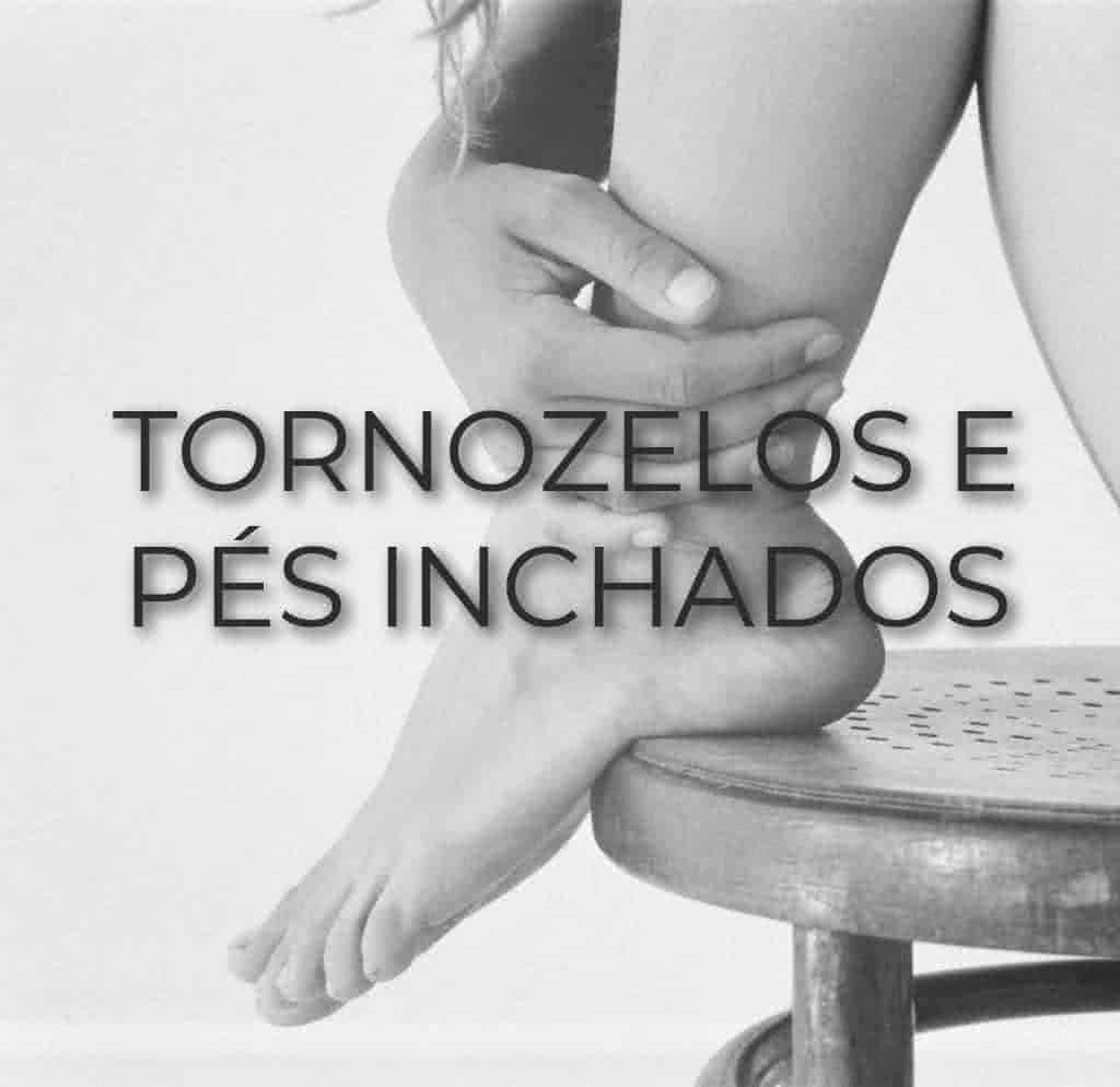 Tornozelos e pés inchados